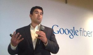Ernesto Marques at the Digital Inclusion Fund Showcase (Photo by the Hispanic Economic Development Corporation)