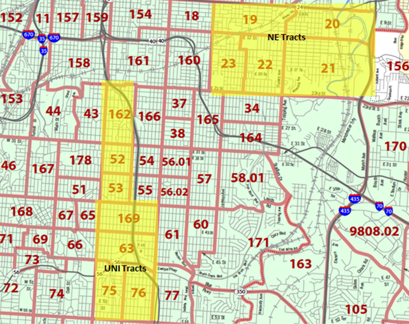 KCMO Tracts