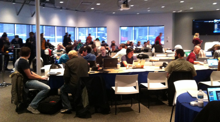 14 teams competed in Hacking the Gigabit City