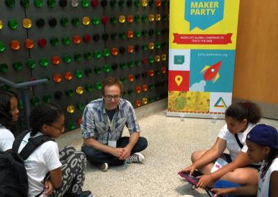 Gigabots at Summer Quest Maker Party