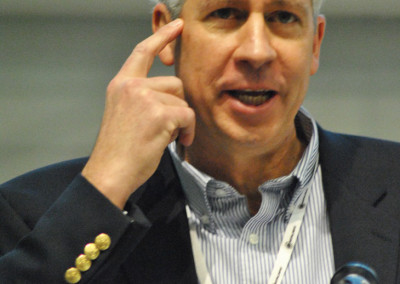 Alan Fitzpatrick of Charlotte Hearts Gigabit at the Gigabit City Summit.