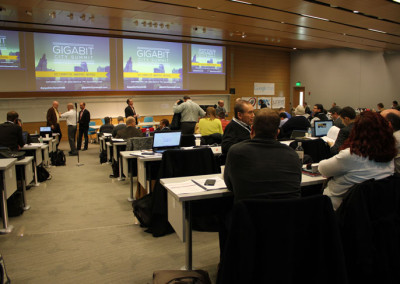 More than 200 attendees gathered at the Gigabit City Summit