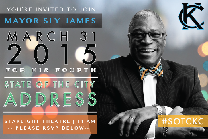 Mayor James: Dapper and innovative.