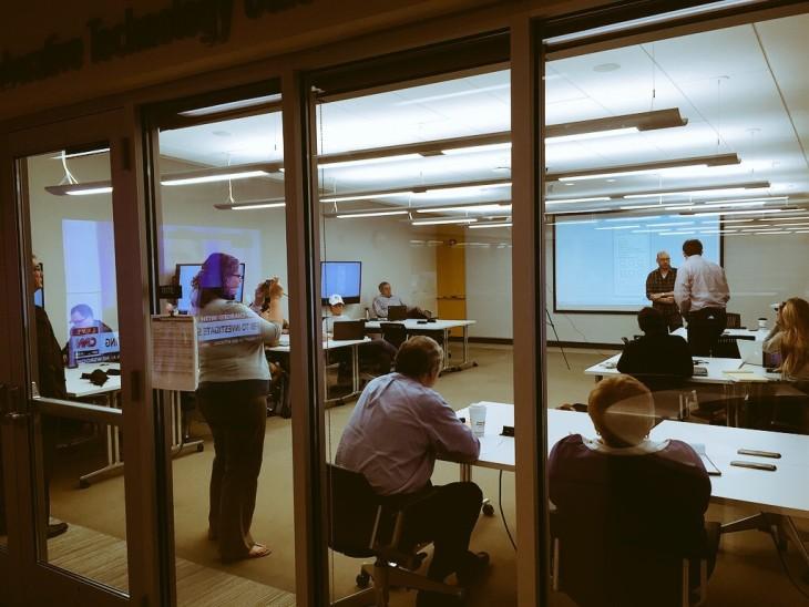 legal hackathon classroom