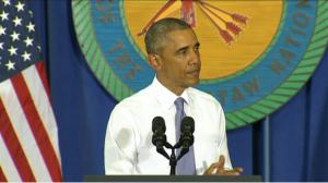 Obama in Durant, Oklahoma