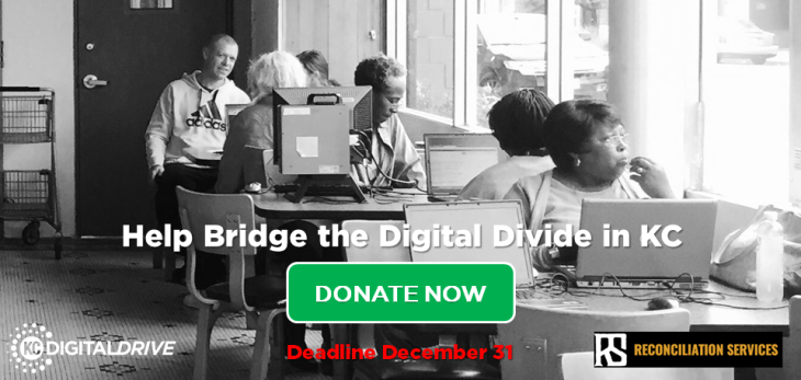 Help Bridge the KC Digital Divide with a Year-End Gift to KCDD